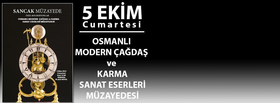 Osmanlı Modern Çağdaş ve Karma Sanat Eserleri Müzayedesi
