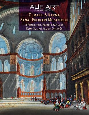 Alif Art Osmanlı ve Karma Sanat Eserleri Müzayedesi