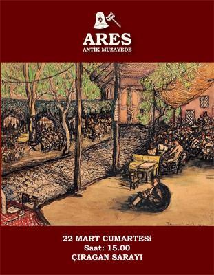 Osmanlı, Modern, Çağdaş ve Karma Sanat Eserleri Müzayedesi Ares Müzayede